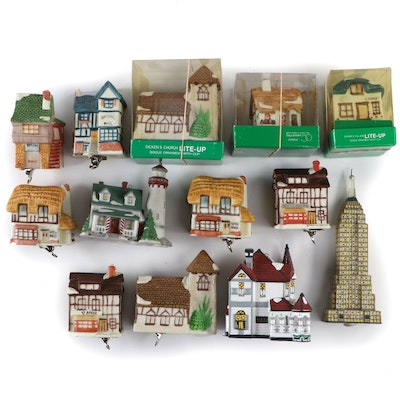 "Department 56 Dickens Village Christmas Ornaments ""Empire State Building"""