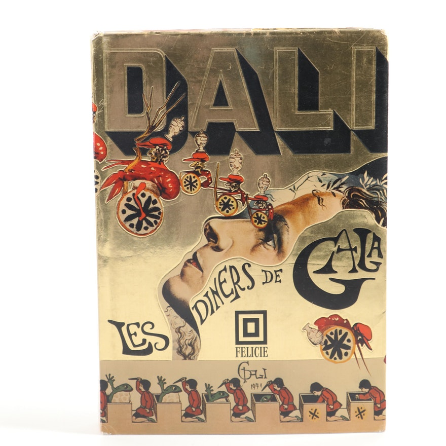"""""""Les dîners de Gala"""" by Salvador Dalí, 1973"""