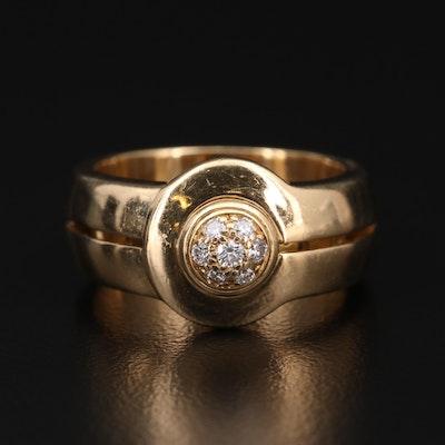 Di Modolo 18K Gold Diamond Ring