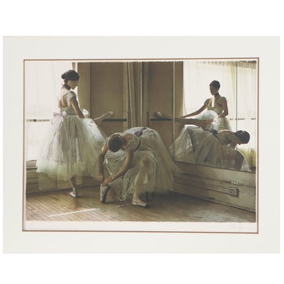 "Douglas Hofmann Lithograph ""Afternoon Rehearsal,"" 1995"