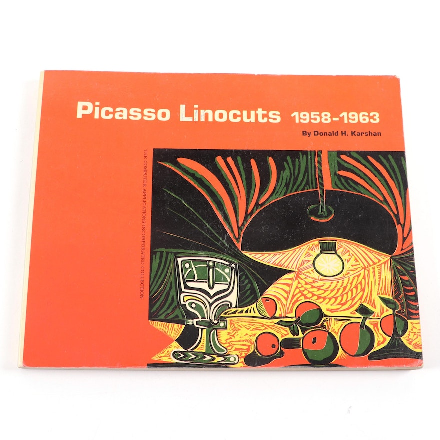 "Exhibition Catalogue ""Picasso Linocuts 1958-1963"" by Donald H. Karshan"
