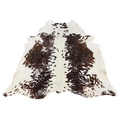 4'3 x 4'8 Natural Cowhide Accent Rug