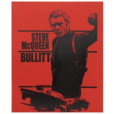 "John Stango Pop Art Serigraph ""Steve McQueen Bullitt,"" 20th Century"