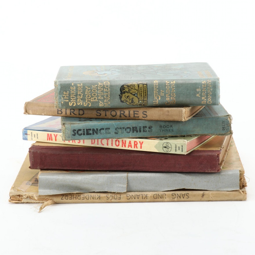 "Seven Children's Books Featuring ""Sang und Klang"", Mid-20th Century"