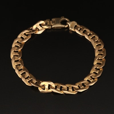 Milor 14K Mariner Link Bracelet