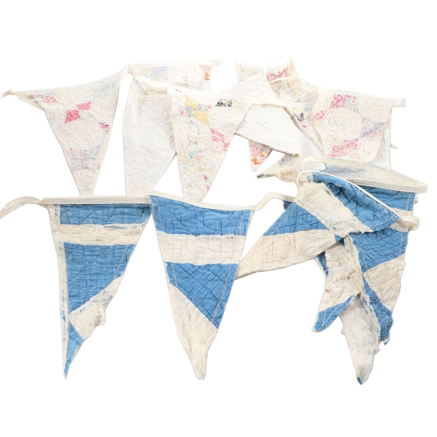 Lolly Baba Bespoke Quilt Bunting Banners