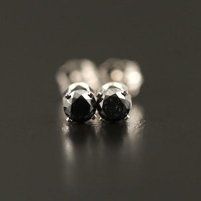 14K 0.32 CTW Diamond Stud Earrings