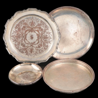 International Silver, Wm. Rogers, and Other American Silver Plate Serveware