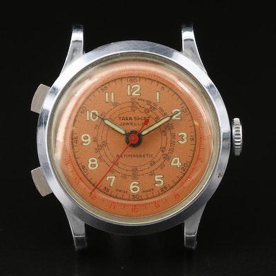 Vintage Tara Sport Telemetre Chronograph Wristwatch