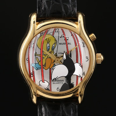 Tweety Bird & Sylvester Musical Armitron Wristwatch