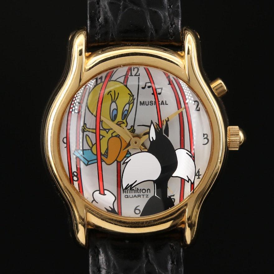Tweety Bird & Sylvester Musical Armitron Wristwatch