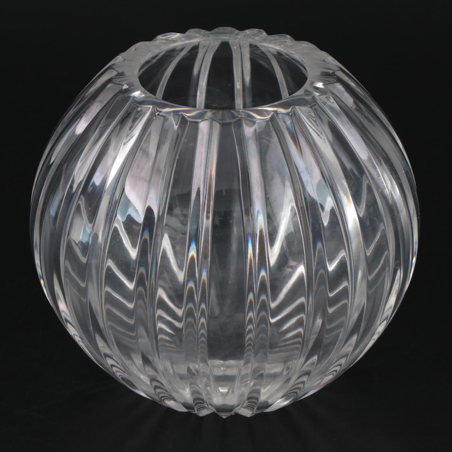 """Marquis by Waterford """"Palladia Collection"""" Crystal Rose Bowl"""