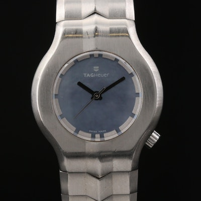 TAG Heuer Alter Ego Mother of Pearl Dial Stainless Steel Quartz Wristwatch