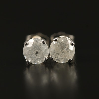 14K 1.44 CTW Diamond Stud Earrings