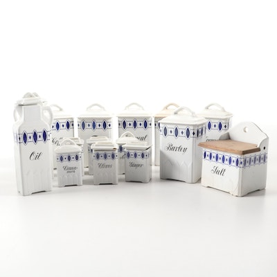 Ceramic Canisters Made in Germany