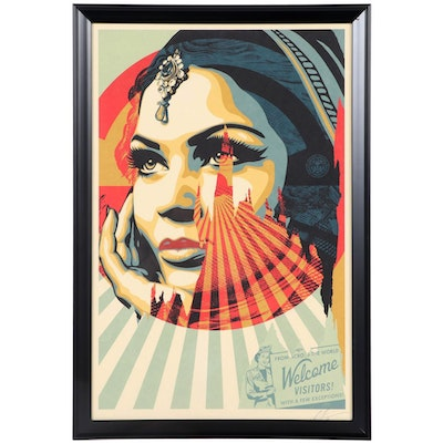 "Shepard Fairey Offset Print ""Target Exceptions,"" 2020"