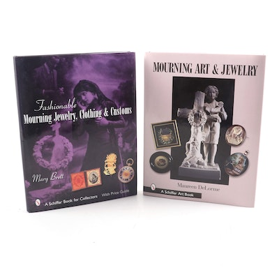 """Mourning Art & Jewelry"" by Maureen DeLorme and More"