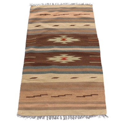 3' x 5'3 Handwoven Indo Turkish Kilim Rug, 2000s