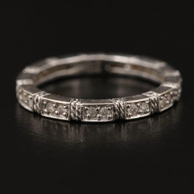 Sonia Bitton 14K Diamond Eternity Band