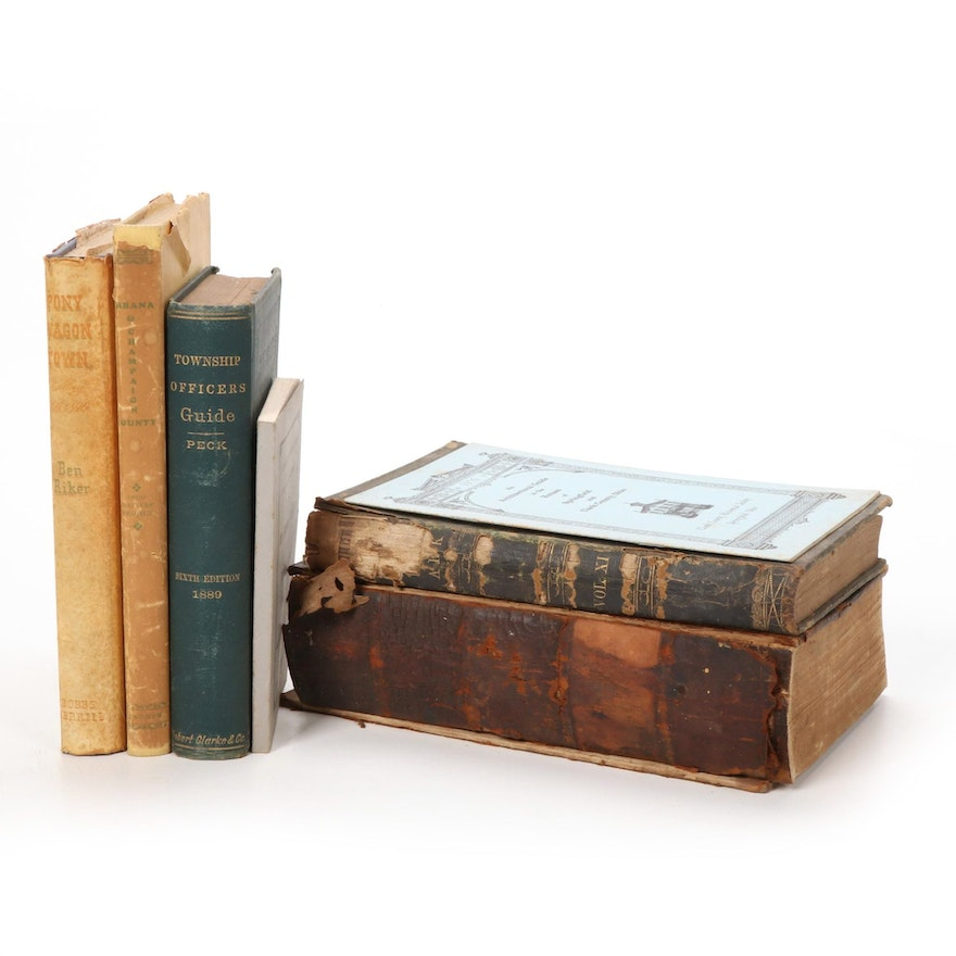 Ohio History and Governing Books, Mid 19th Century - Mid 20th Century
