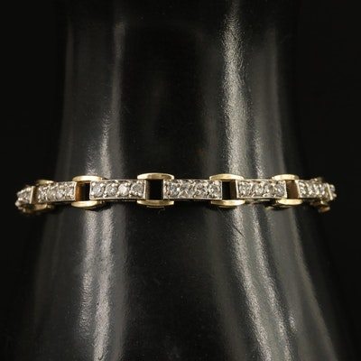 14K 2.66 CTW Diamond Bracelet