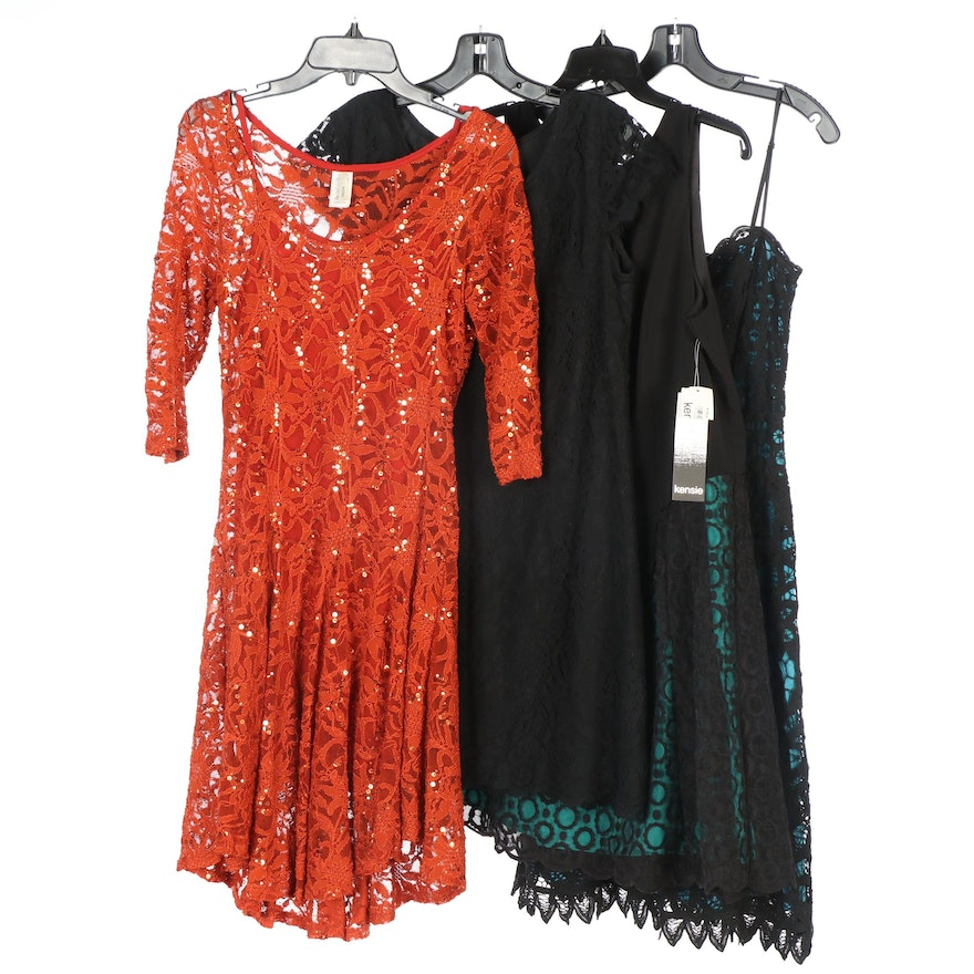 Betsey Johnson, Kensie and Other Cocktail Dresses