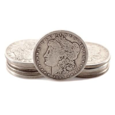Ten Common Date Morgan Silver Dollars