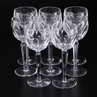 "Waterford Crystal ""Sheila"" Wine Hocks, Mid/Late 20th Century"