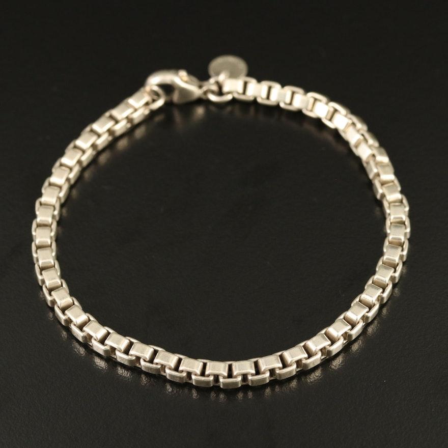 """Tiffany & Co. Sterling Silver """"Venetian Link"""" Bracelet"""