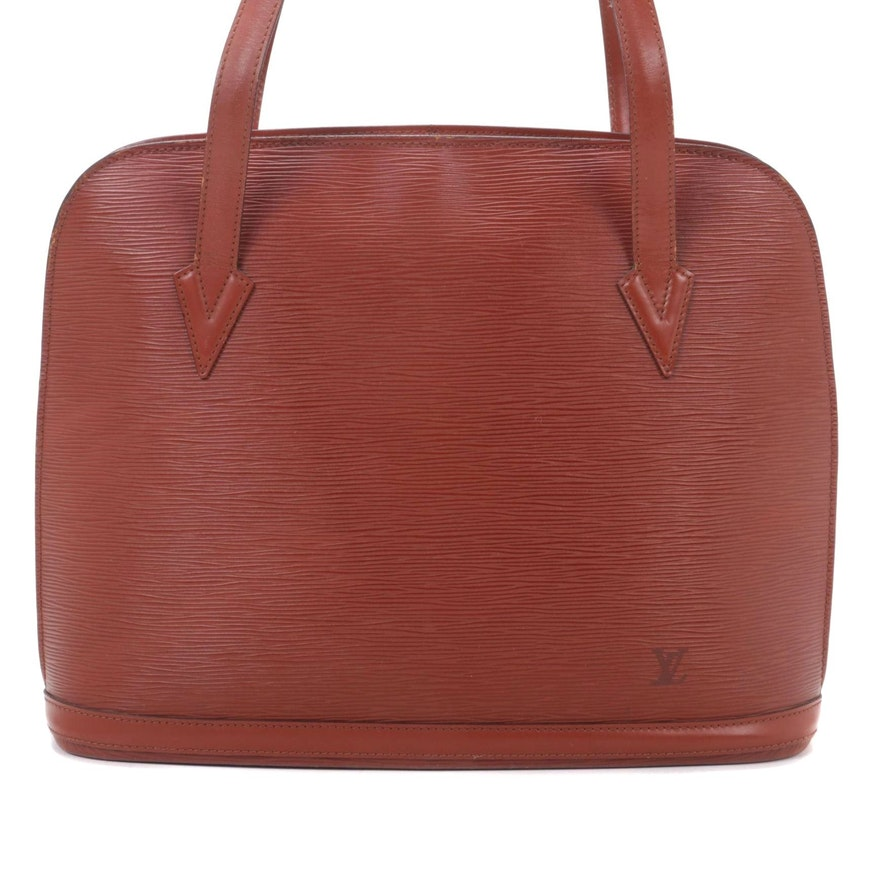 Louis Vuitton Lussac in Cipango Gold Epi Leather