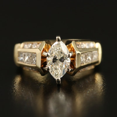 14K 1.80 CTW Diamond Ring