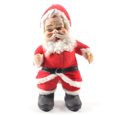 Stuffed Santa Claus Figure