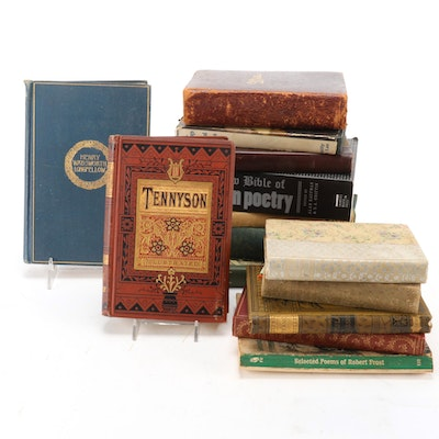 Fourteen Poetry Books Including Tennyson and More