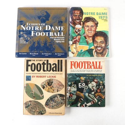 """Echoes of Notre Dame Football"" by Joe Garner, and Other Football Books"