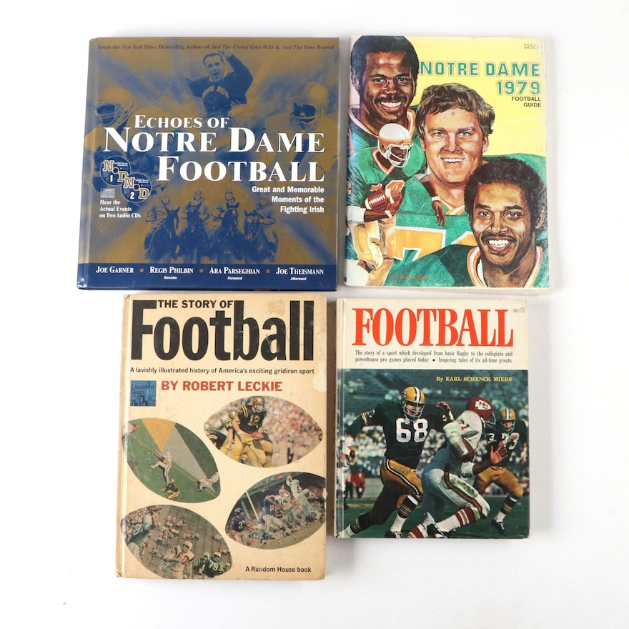 """""""Echoes of Notre Dame Football"""" by Joe Garner, and Other Football Books"""