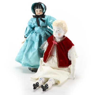 Porcelain Dolls Featuring Madeline, 20th Century