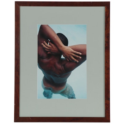 David Whitman Digital C-Print Photograph of Male Nude