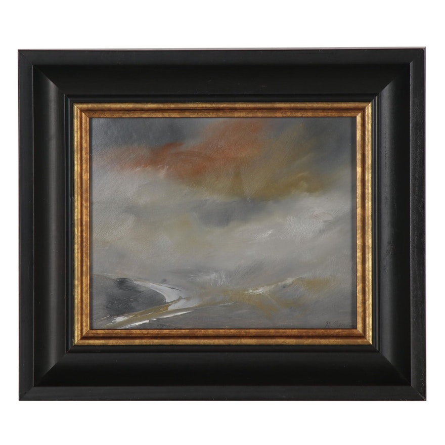 """Rebecca Manns Oil Painting """"Storm's Passing"""""""