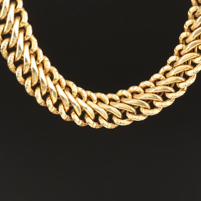 14K Infinity Link Chain