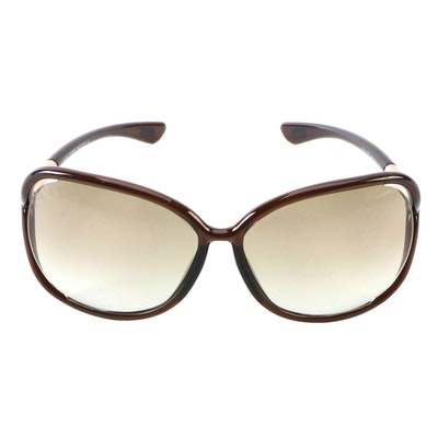 Tom Ford TF76 Raquel Brown Gradient Sunglasses
