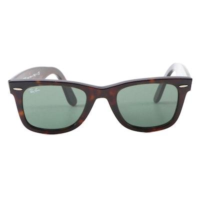 Ray-Ban RB2140 Wayfarer Sunglasses in Dark Tortoiseshell
