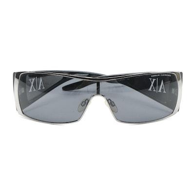 Armani Exchange Unisex Wrap Around Sunglasses