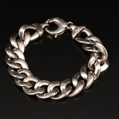 Milor Sterling Curb Link Chain