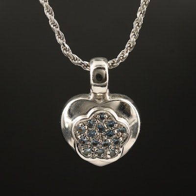 14K Spinel Pendant Necklace
