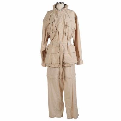 Integral Explorawear Khaki Jacket and Convertible Pants, Vintage