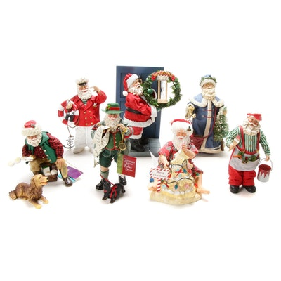 Clothtique Possible Dreams Santa Figurines, Late 20th Century
