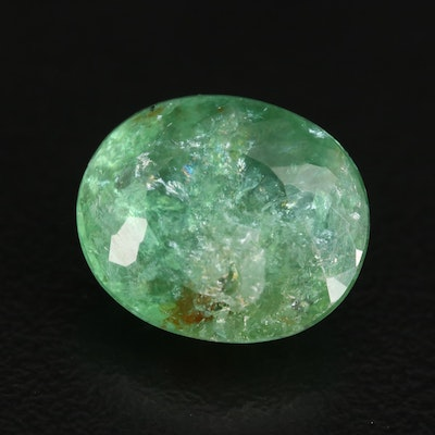 Loose 9.82 CT Oval Faceted Tourmaline