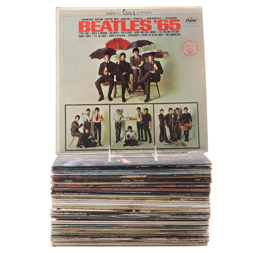 The Beatles, John Prine, Culture Club, Linda Ronstadt and More Records