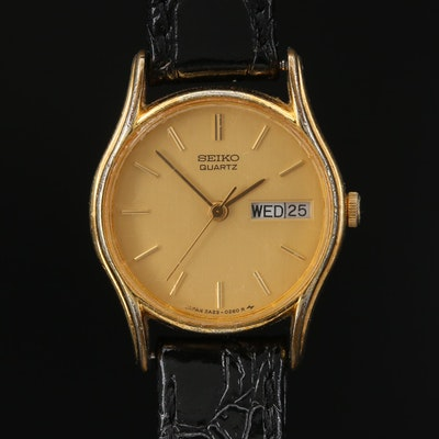 Vintage Seiko Day/Date Quartz Wristwatch