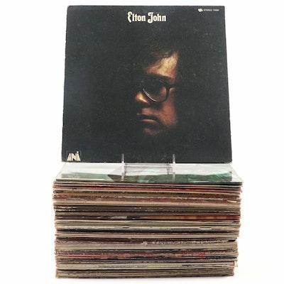 Simon and Garfunkel, Elton John, Jerry Garcia and More Records